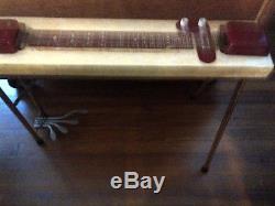 Harlin Brothers vintage 1950s pedal steel guitar