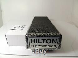Hilton Electronics Low Profile Volume Pedal Guitar Steel withPower Supply