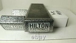 Hilton Electronics Low Profile Volume Pedal Guitar Steel withPower Supply & Mount