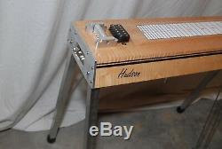 Hudson ST 6 string pedal steel guitar 2&2 Emmons setup tiger maple