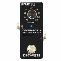 ISP Technologies DECI-MATE Micro Noise Reduction Guitar Effects Pedal