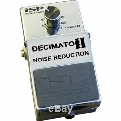 ISP Technologies Decimator II Noise Reduction Gate Guitar Effect Pedal v2