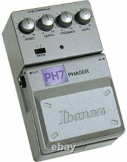 Ibanez PH7 Tone-Lok Phaser Guitar Effect Pedal Brand New in Box