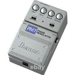 Ibanez PM7 Tone-Lok Phase Modulator Guitar Effects Pedal Brand New in Box