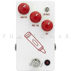 JHS Pedals Crayon Preamp, Distortion, Fuzz Guitar Effects Pedal Brand NEW