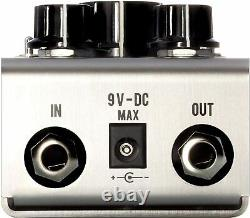 Jackson Audio PRISMSV Prism EQ and Boost Guitar Effects Pedal, Stainless Steel