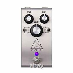 Jackson Audio Prism EQ and Boost Guitar Effects Pedal Stainless Steel PRISMSV