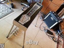 Jackson S10 3X5 Black Jack Pedal Steel Guitar with Case! VGC