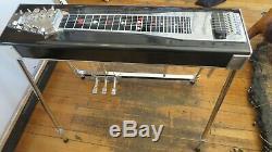 Jackson Steel 10 string pedal steel guitar 4 knees 3 floor pedals custom case