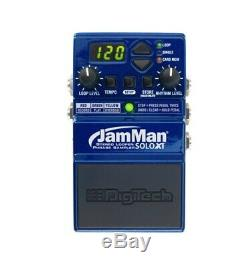JamMan Solo XT Stereo Looper Compact Guitar FX Pedal with JamSync Brand New