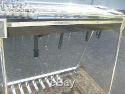 Jch Pedal Steel Guitar Black D-10 Rare 8 & 5 Knee Levers Steel-necks Excellent