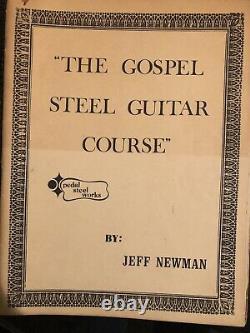 Jeffran Pedal Steel Guitar Instruction