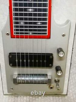 Junk Treatment Rare Pedal Steel Guitar With Case Fuzzy 8-String
