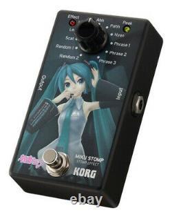 KORG Vocaloid Miku Hatsune MIKU STOMP Guitar Compact Effector Pedal BRAND NEW