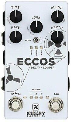 Keeley ECCOS Delay Guitar Pedal and Looper (Brand New!) (unopened)