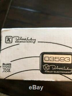 Keeley Monterey Rotary Fuzz Vibe Guitar Effects Pedal, Brand New