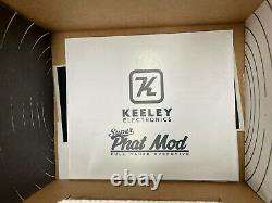 Keeley Super Phat Mod Guitar Effect Effects Pedal Brand NEW