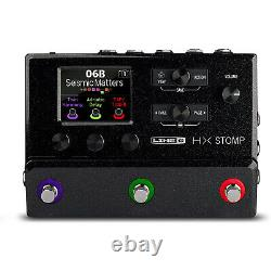 Line 6 HX Stomp Black Multi-Effects Guitar Pedal BRAND NEW