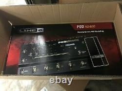 Line 6 POD HD400 Guitar Multi-Effects Processor Pedal BRAND NEW