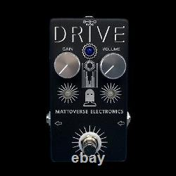 MATTOVERSE ELECTRONICS Drive Overdrive Guitar Pedal. Brand New