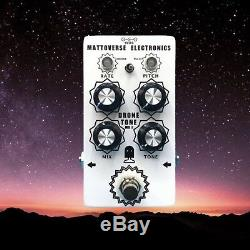 MATTOVERSE ELECTRONICS Drone Tone MKII Guitar Pedal. Brand New