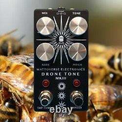 MATTOVERSE ELECTRONICS Drone Tone MKIII Guitar Pedal. Brand New