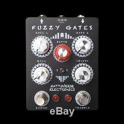 MATTOVERSE ELECTRONICS Fuzzy Gates Guitar Pedal. Brand New