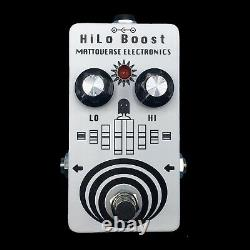 MATTOVERSE ELECTRONICS HiLo Boost Guitar Pedal. Brand New! Authorised Dealer
