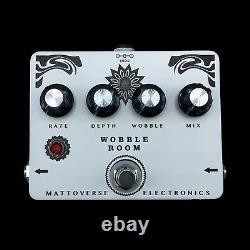MATTOVERSE ELECTRONICS Wobble Room Chorus / Vibrato Guitar Pedal. Brand New