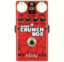 MI AUDIO Super Crunch Box V2 BRAND NEW Guitar Effect Pedal NEW
