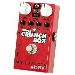 MI AUDIO Super Crunch Box V2 BRAND NEW Guitar Effect Pedal from japan
