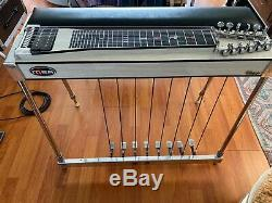 MSA Classic U12 Pedal Steel Guitar, 8 pedals, 5 levers, recent setup