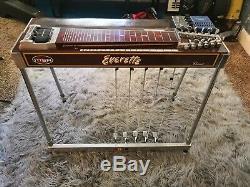 MSA Classic XL 12 String 5x5 Pedal Steel Guitar