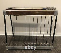 MSA Pedal Steel guitar double neck 1972 For Parts Or Repair
