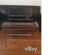 MSA Sidekick 3X1 Pedal Steel Guitar with Case! VGC