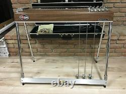 MSA Sidekick Pedal Steel Guitar 10 String 3 Pedal Chess Inlays