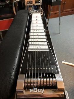 MSA Single Neck Pedal Steel Guitar Gently Used