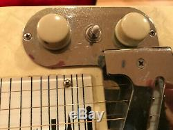 MULTI-KORD HARLIN BROS. 4 Pedal, 6 String Electric Steel Guitar with Original Case
