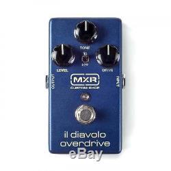 MXR Custom Shop Il Diavolo Overdrive Guitar Effect Pedal Brand New