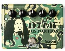 MXR Dunlop DD11 Dime Distortion Dimebag Signature Guitar Effect Pedal Brand New