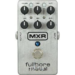 MXR M116 Fullbore Metal Distortion Electric Guitar Effect Pedal Brand New
