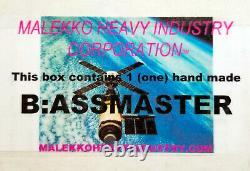Malekko BAssmaster Fuzz Effects Pedal Guitar Bass Brand New UNUSED Genuine MINT