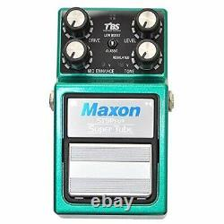 Maxon ST9Pro+ Super Tube Guitar Effects Pedal Brand New Made In Japan