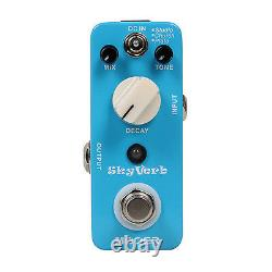 Mooer Audio Skyverb Electric Guitar Reverb Effect Pedal Brand New