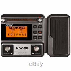 Mooer GE100 Guitar Multi-Effects processor pedal Brand New