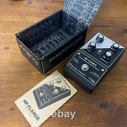Moog Minifooger MF Flange Guitar Effect Pedal Brand new never used