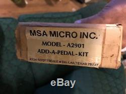 Msa Model A2901 Add A Pedal Kit. Pedal Steel Guitar NOS NIB. Mas Micro Inc