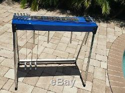 Mullen Discovery 3X4 Pedal Steel Guitar with Hard Case! EXCond