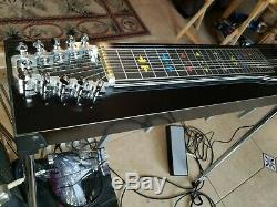 Mullen Discovery 3X5 Pedal Steel Guitar with Hard Case! ExCond