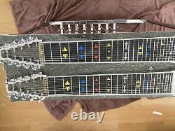 Mullen Pedal Steel Guitar/8 Pedals 4 Knee Levers/custom Pickups
